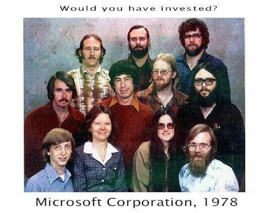Microsoft Bill Gates 1978 photo