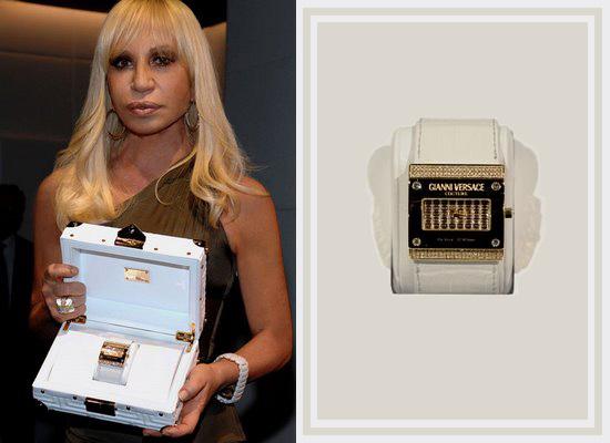 Donatella Versace Watch