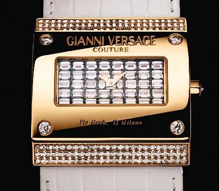 Versace Diamond Watch