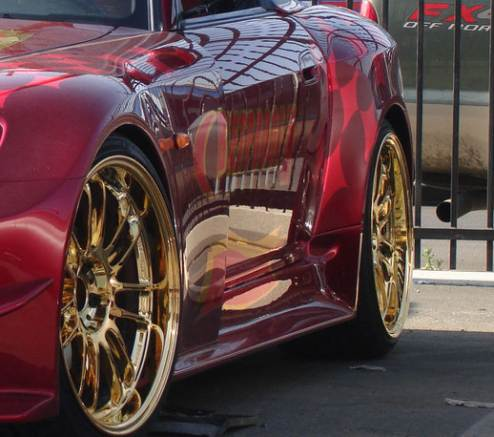 Volk Racing Gold Plated