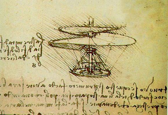 Da Vinci Helicopter