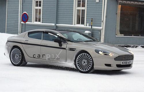 Aston Martin Rapide Spy Photos