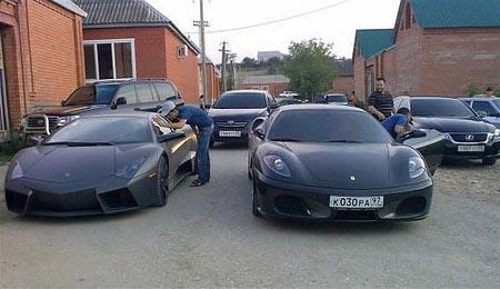 Lamborghini Revention in Chechnya