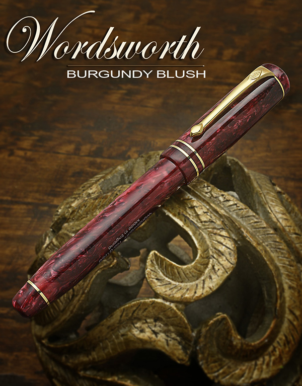 Conway Stewart Wordsworth Burgundy Blush Limited Edition